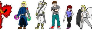 Unreality characters by lordofpencil