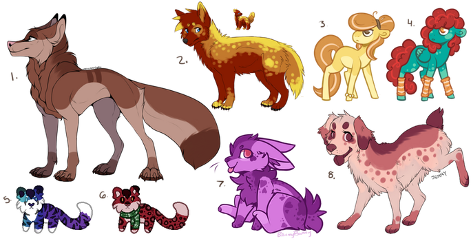 Dirt Cheap Leftover Adopts (5/8 OPEN) by all-type-adopts