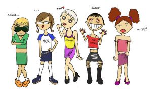 MCR fangirls ... kinda ... by ihni