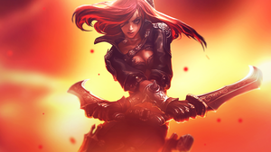 Katarina Wallpaper by KatlynArts
