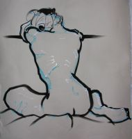 Angular Back life drawing by object000