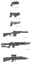 Just some 0.6 guns III by Robbe25
