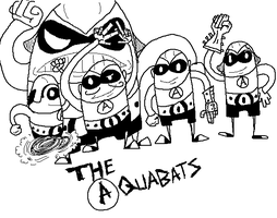 The Aquabats by JaxASDF