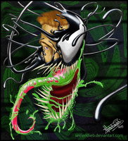 the Venom Symbiote by SeelenDieb