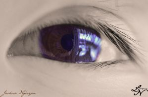 Eye Project: Reflecting Half by ShineeDragon