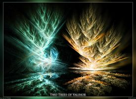 Two Trees of Valinor by noei1984