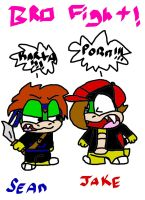 re:little bro vs. big bro by koopalingdrawer101
