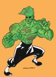 Enter the Savage Dragon by caiooliveira