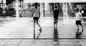 Fountain Playtime by suolasPhotography