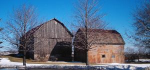 Old and Older Barn by specialoftheweek