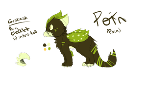 Another character: Poin by Mooui
