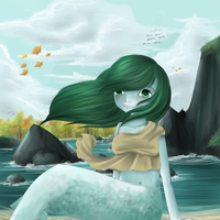 :WIP: Mermaid by chocobeery