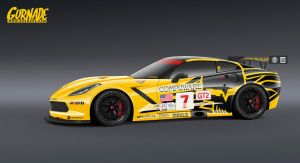 Corvette C7R by Gurnade