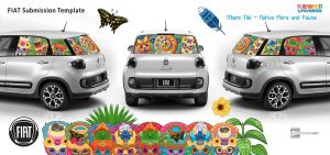 Fiat Submission Kawaii Universe - Miami Tiki by KawaiiUniverseStudio