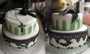 Cake For First Communion by hotabairo