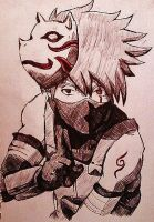 Kakashi by Panicatthedisco7