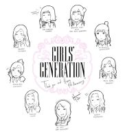 SNSD 4th Anniversary by Lieutenant-Down