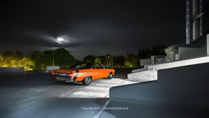 A-Body Mopar at night by AmericanMuscle