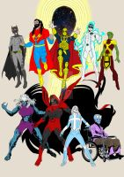 Alll New 52 Amalgam Now others by Needham-Comics