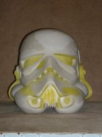 Stormtrooper mask clay by lionback