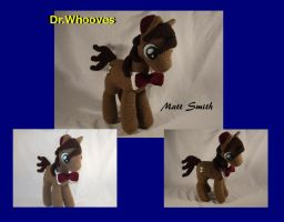 Dr. Whooves: Matt Smith by Country-Geek-Crochet