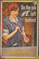 Propaganda Pinups - Women Workforce by warbirdphotographer