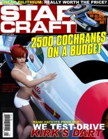STAR CRAFT Magazine Cover by Ptrope