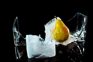 Iced Pear III by Comelius