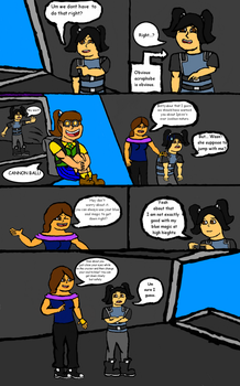 Protector Force comic page 5 by GigglingMeneHune