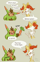 It's a carrot by WeirdaMirrart