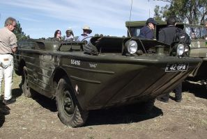 Amphibious Jeep on display by RedtailFox