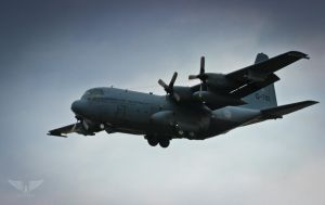 Royal Netherlands Air Force C130 Hercules by Brandzai
