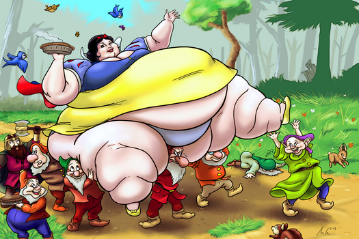 Fairest and Fattest of Them All by Ray-Norr
