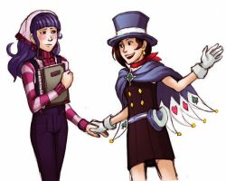 Trucy x Vera - Never Alone by KarniMolly