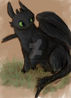 Toothless by Misty-Moon06