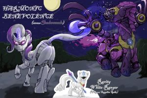 Pony Rangers - Harmonic Benevolence Vs Shadowmech by SeanMirrsen