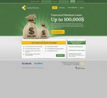 CornerStone Business Finance Consultants Website by HappyCatfishWeb