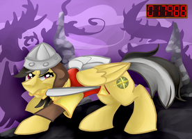 Dirk the Daring Do by ChromaFlow