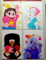 STEVEN UNIVERSE markers by Brother-Tico