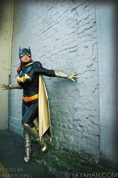 Batgirl in the Alley by yayacosplay