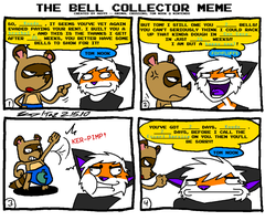 Bell Collector Meme by TheGoldenCrowbar