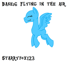 Base 6 Flying in the air by StarryFox123