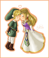 Chibi Zelink :: Twilight Princess by brigette