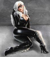 Black Cat02 by phoenixnightmare