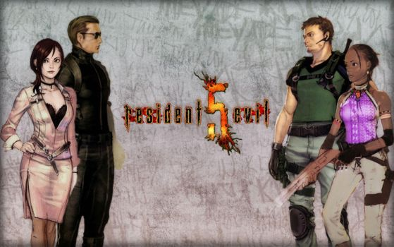 Resident Evil 5 Concepts by Isobel-Theroux