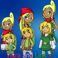 Link and Tetra BG by PrincessZeldast