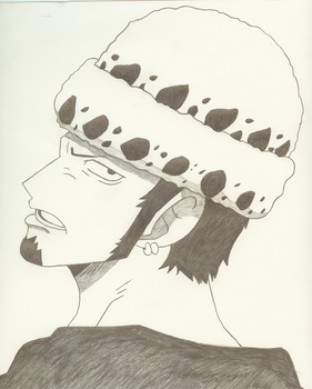 Trafalgar Law by TheMikeJack01