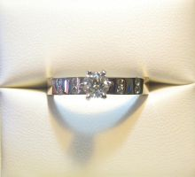 37pt SI1 G Engagement Ring by jessa1155