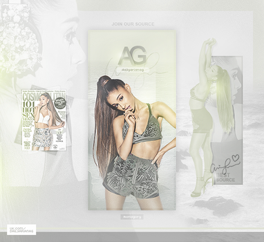 Ariana Grande by monagory