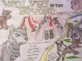 Wolves of the Beyond: Watch Wolf by LunaHydreigon